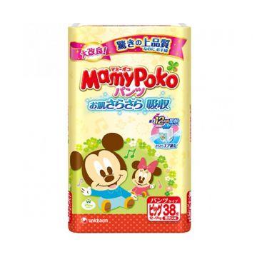Трусики MamyPokoТрусики MamyPoko Big (12-17 кг) 38 шт, в упаковке 38 шт., размер XL (BIG)<br><br>Штук в упаковке: 38<br>Размер: XL (BIG)