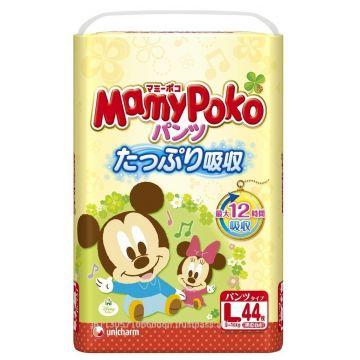 Трусики MamyPokoТрусики MamyPoko L (9-14 кг) 44 шт, в упаковке 44 шт., размер L<br><br>Штук в упаковке: 44<br>Размер: L