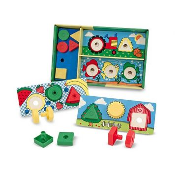 Классические игрушки Melissa and DougКлассические игрушки Melissa and Doug Подбери и скрепи 2433, возраст от 3 лет<br><br>Возраст: от 3 лет