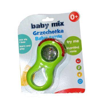 Погремушка Baby MixПогремушка Baby Mix Шар 50107, возраст от 0 месяцев<br><br>Возраст: от 0 месяцев