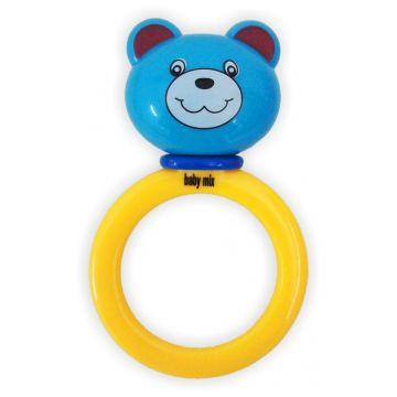 Погремушка Baby MixПогремушка Baby Mix Медвежонок 121, возраст от 0 месяцев<br><br>Возраст: от 0 месяцев