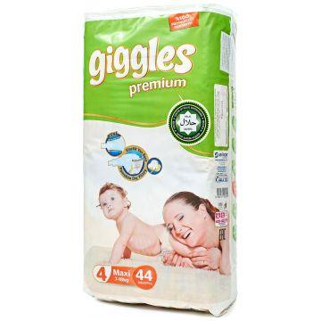 Подгузники GigglesПодгузники Giggles размер L (7-18 кг) 44 шт, в упаковке 44 шт., размер L<br><br>Штук в упаковке: 44<br>Размер: L