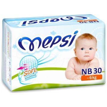 Подгузники MepsiПодгузники Mepsi размер NB (до 6 кг) 30 шт, в упаковке 30 шт., размер NB<br><br>Штук в упаковке: 30<br>Размер: NB