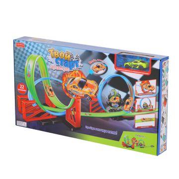 Игровой трек ZHORYAИгровой трек ZHORYA Твой старт (22 элемента) ZY416223/ZYB-B2112-1, возраст от 4 лет<br><br>Возраст: от 4 лет