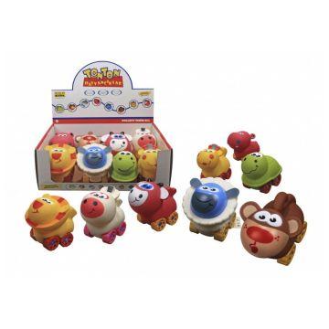 Игрушка ERPA Машинка-животные TONTON в ассортименте 17 см. 0610 8/48