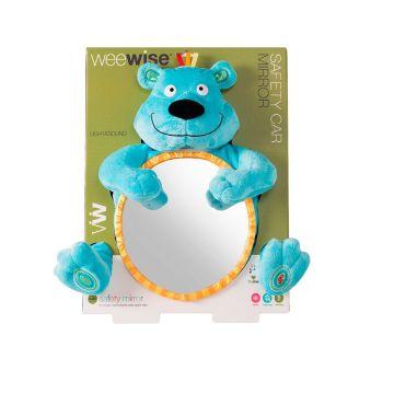 Безопасное детское зеркальце WeeWise в автомобиль Мишка 30110