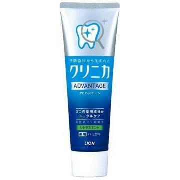 Зубная паста LionЗубная паста Lion Clinica Advantage Citrus mint с ароматом цитруса и мяты, туба 130 г<br>