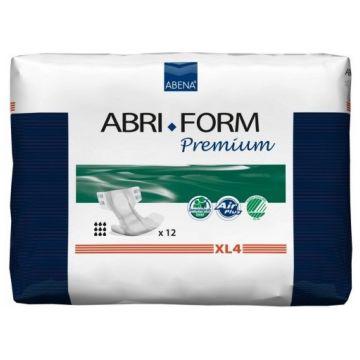 Подгузники AbenaПодгузники Abena Abri-Form XL4 объем 110-170 см впитываемость 4000 мл (12 шт) 00319, в упаковке 12 шт.<br><br>Штук в упаковке: 12