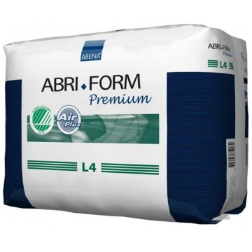 Подгузники AbenaПодгузники Abena Abri-Form L4 объем 100-150 см впитываемость 4000 мл (12 шт) 00320, в упаковке 12 шт.<br><br>Штук в упаковке: 12