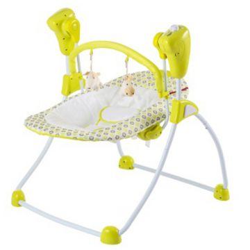 Кресло-качели детские AmalfyКресло-качели детские Amalfy Lime GB-001, возраст от 0 месяцев<br><br>Возраст: от 0 месяцев