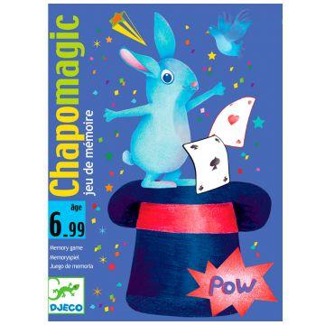 Игра карточная DjecoИгра карточная Djeco Шляпа волшебника 05133, возраст от 6 лет<br><br>Возраст: от 6 лет