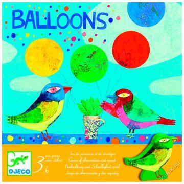 Игра настольная DjecoИгра настольная Djeco Воздушные шары 08452, возраст от 3 лет<br><br>Возраст: от 3 лет