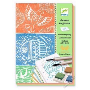 Набор для творчества DjecoНабор для творчества Djeco Изготовление штампов 08614<br>