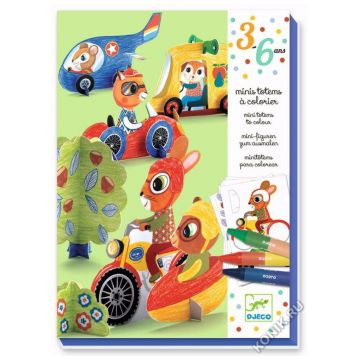 Набор для творчества DjecoНабор для творчества Djeco Би-Би 09862, возраст от 3 лет<br><br>Возраст: от 3 лет