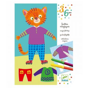Набор для творчества DjecoНабор для творчества Djeco Одень Животных 09882, возраст от 3 лет<br><br>Возраст: от 3 лет