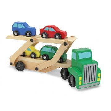 Игрушка Melissa and DougИгрушка Melissa and Doug Машинка для перевозки автомобилей 4096, возраст от 3 лет<br><br>Возраст: от 3 лет