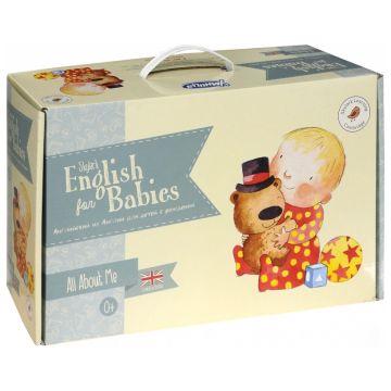 Обучающий комплект УмницаОбучающий комплект Умница Английский с пелёнок SKYLARK ENGLISH for babies<br>