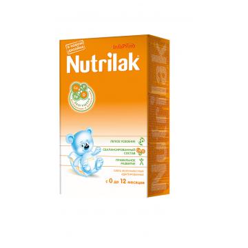 Молочная смесь NutrilakМолочная смесь Nutrilak 0-12 мес. 350 г, возраст 1 ступень (0-3 мес). Проконсультируйтесь со специалистом. Для детей 0-12 мес.<br><br>Возраст: 1 ступень (0-3 мес)