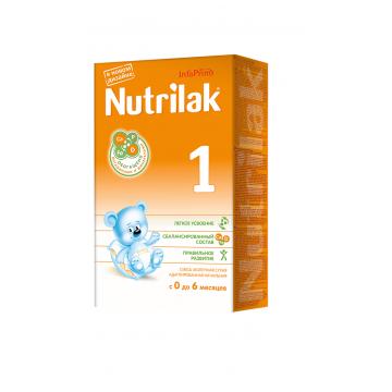 Молочная смесь NutrilakМолочная смесь Nutrilak 1 с 0-6 мес. 350 г, возраст 1 ступень (0-3 мес). Проконсультируйтесь со специалистом. Для детей 0-6 мес.<br><br>Возраст: 1 ступень (0-3 мес)