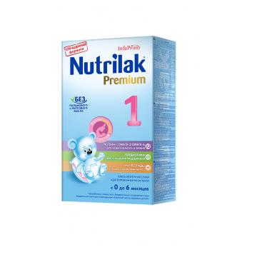 Молочная смесь NutrilakМолочная смесь Nutrilak  Premium 1 с 0-6 мес. 350 г, возраст 1 ступень (0-3 мес). Проконсультируйтесь со специалистом. Для детей 0-6 мес.<br><br>Возраст: 1 ступень (0-3 мес)