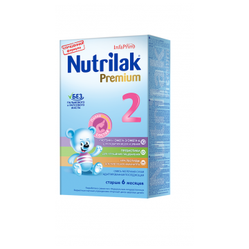 Молочная смесь NutrilakМолочная смесь Nutrilak Premium 2 с 6-12 мес. 350 г, возраст 3 ступень (6-12 мес). Проконсультируйтесь со специалистом. Для детей 6-12 мес.<br><br>Возраст: 3 ступень (6-12 мес)