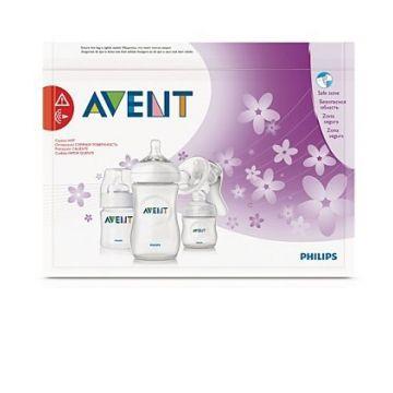 Пакеты для стерилизации в микроволновой печи AventПакеты для стерилизации в микроволновой печи Avent SCF297/05<br>