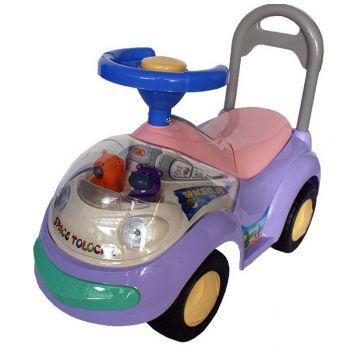 Детская каталка JetemДетская каталка Jetem Space Tolocar (фиолетовый) 2108, возраст от 1 года<br><br>Возраст: от 1 года