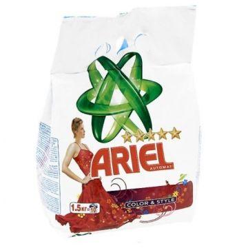 Стиральный порошок ArielСтиральный порошок Ariel  автомат, Color and Style 1.5 кг<br>