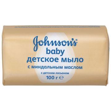 Мыло детское Johnson  and  JohnsonМыло детское Johnson  and  Johnson baby миндальное 100 г<br>