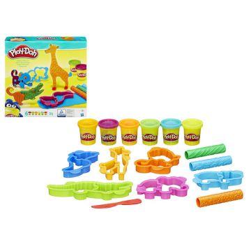 Игровой набор Play-dohИгровой набор Play-doh Веселое Сафари B1168, возраст от 3 лет<br><br>Возраст: от 3 лет