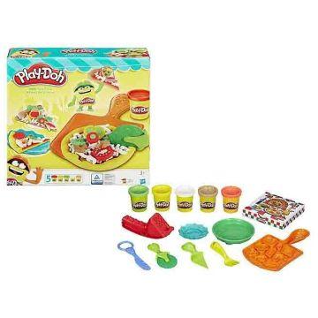 Игровой набор Play-dohИгровой набор Play-doh Пицца B1856, возраст от 3 лет<br><br>Возраст: от 3 лет