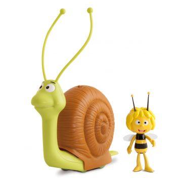 Игрушка каталка S TOYSИгрушка каталка S TOYS Улитка с пчелкой Мая 200104, возраст от 3 лет<br><br>Возраст: от 3 лет
