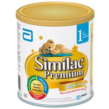 Молочная смесь SimilacМолочная смесь Similac 1 Premium 0-6 мес. 400 г, возраст 1 ступень (0-3 мес). Проконсультируйтесь со специалистом. Для детей 0-6 мес.<br><br>Возраст: 1 ступень (0-3 мес)