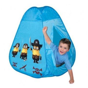 Игровая палатка ToyMartИгровая палатка ToyMart Миньоны 9043R/8910, возраст от 3 лет<br><br>Возраст: от 3 лет