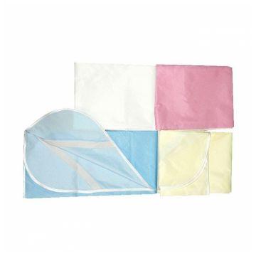Клеёнка детская ToyMart тканевая с резинкой дышащая70х120 бежевый 16/Т-М