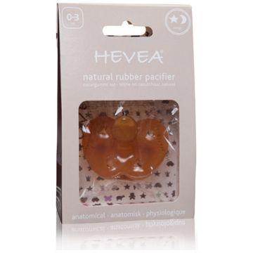 Пустышка Hevea из натурального каучука (латекса) Star and amp;Moon 0-3 мес.