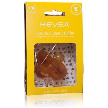Пустышка Hevea из натурального каучука (латекса) Crown 3+ мес