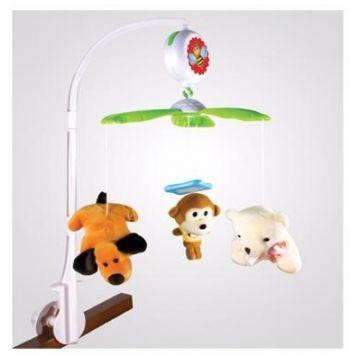Мобиль на кроватку YAKO мягкие игрушки