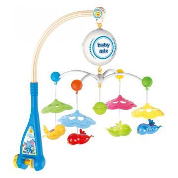 Музыкальная карусель Baby Mix Птички 1660