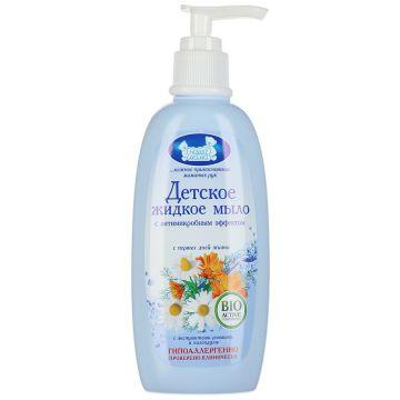Мыло жидкое Наша Мама с антимикробным эффектом для нормальной кожи 250 мл