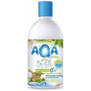 Травяной сбор для купания малышей Aqa Baby Купание в витаминах 300 мл