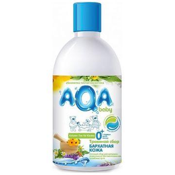 Травяной сбор для купания малышей Aqa Baby Бархатная кожа 300 мл