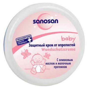 Защитный крем от опрелостей Sanosan 150 мл