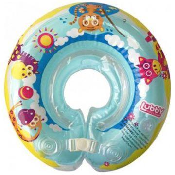 Игрушка для купания Lubby Круг на шею от 0 мес.