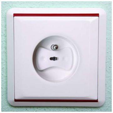 Заглушки для розеток Lubby малые с ключом 6 шт. 13575