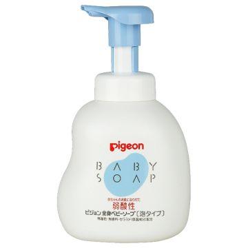 Мыло-пенка для младенцев Pigeon 500мл
