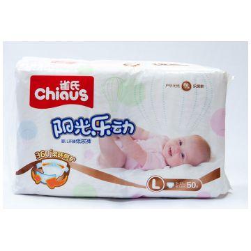 Подгузники Chiaus L (9-13 кг) 50 шт