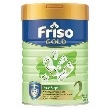 Молочная смесь Friso Фрисолак 2 Gold 6-12 мес. 400 г