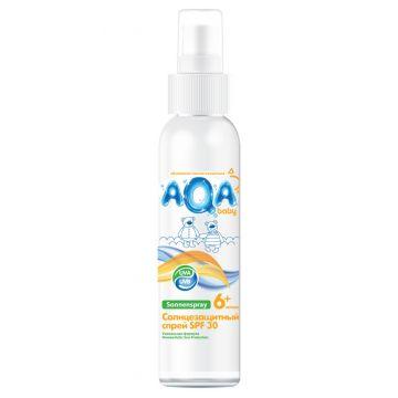 Солнцезащитный спрей Aqa Baby Aqa Baby SPF 30+ 150 мл