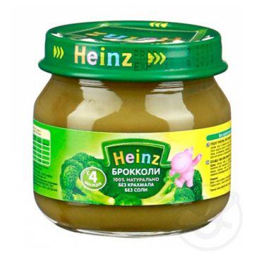 Детское пюре Heinz брокколи с 4 мес. 80 г